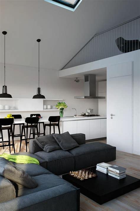 cuisine americaine appartement quelques exemples de joli aménagement de cuisine ouverte