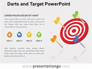 Free Target And Goals Powerpoint Templates