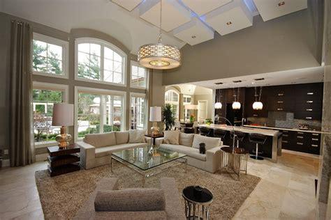 oakville open concept living contemporary living