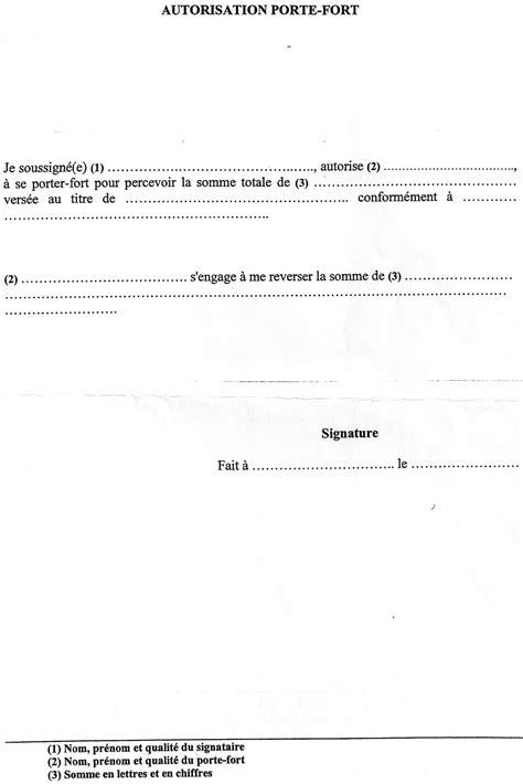 modele de lettre pour désigner un porte fort modele procuration pour porte fort document