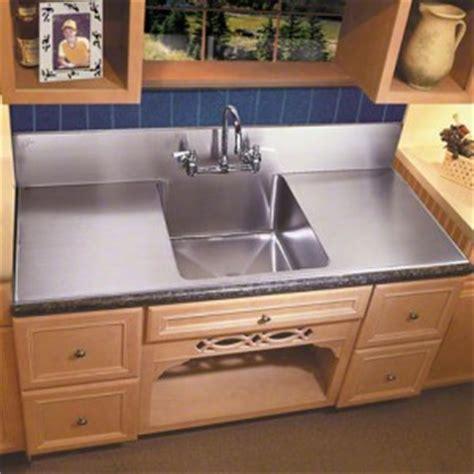 Kitchen Sinks   Large Farmhouse Sink With Steel Backsplash