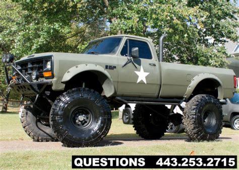 dodge mud truck 1989 dodge ram 2500 mud truck monster truck classic