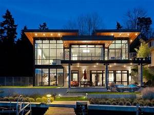 Lakeside Modern Built for Entertaining in the Pacific ...