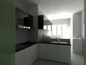 interior kitchen cabinet design hdb 3 room flat 2 With 3 room hdb kitchen renovation design