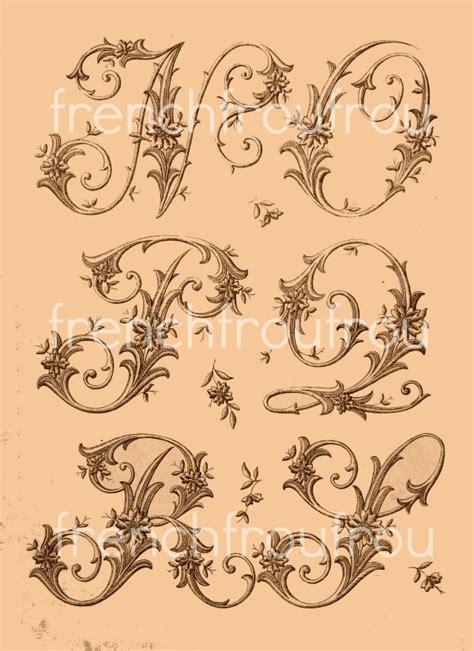 antique victorian alphabet monogram pattern monogram inspiration pinterest victorian
