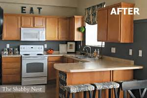 a charming kitchen revamp for 1527 white countertops With kitchen colors with white cabinets with chicago skyline wall art