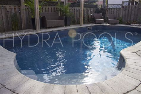 blue slate embossed aquashimmer inground pool liner