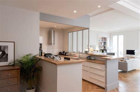 cuisine en u ouverte cuisines semi ouvertes sur le salon ou la salle à manger