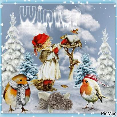 Winter Gifs Season Wonderful Quotes Picmix