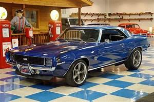 1969 Chevrolet Camaro  U2013 Blue    Black  U2013 A U0026e Classic Cars