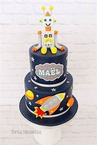 22 best Space, robot cakes images on Pinterest