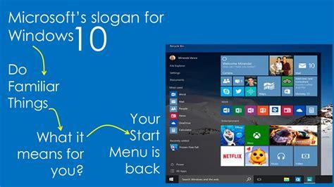 10 microsoft s slogan for windows