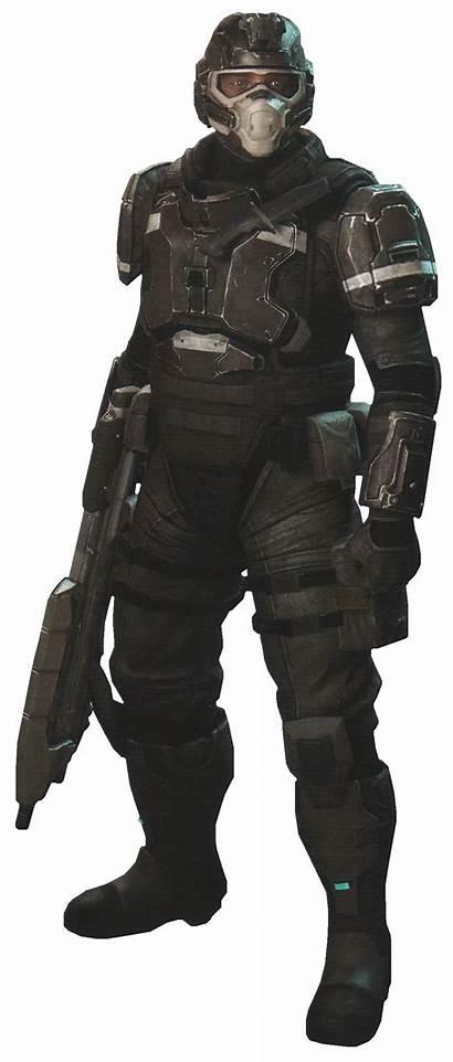 Oni Security Halo Armor Marine Character Halopedia