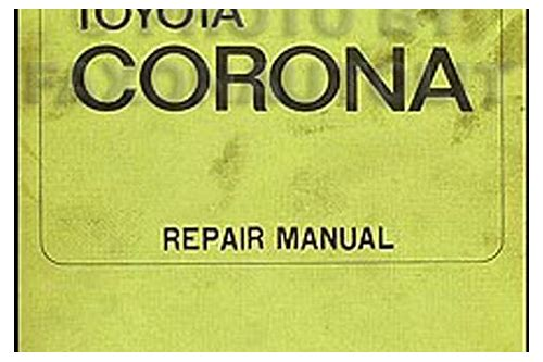 toyota corona service