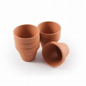 Mini Pots De Culture En Terre Cuite Pour Plantation