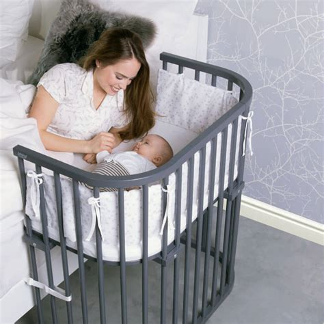 bedside crib co sleeper baby crib that attaches to your bed babybay
