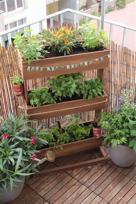 Hochbeet Für Den Balkon by Hochbeet Diy Mal Anders Garten Fr 228 Ulein Der Garten
