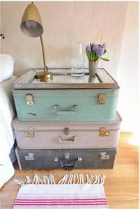 Valise Vintage Pas Cher : les meubles vintages comme un accent romantique ~ Teatrodelosmanantiales.com Idées de Décoration