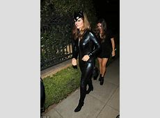 Paris Hilton wears a sexy warrior costume for George