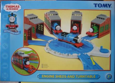 engine sheds and turntable thomas and friends