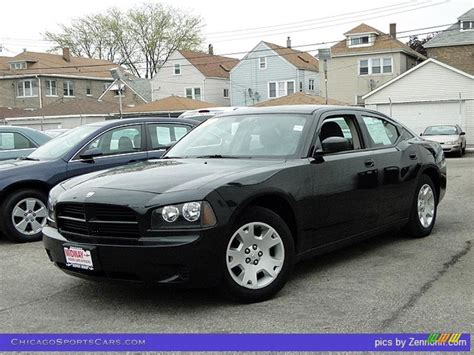 2007 Dodge Charger in Brilliant Black Crystal Pearl