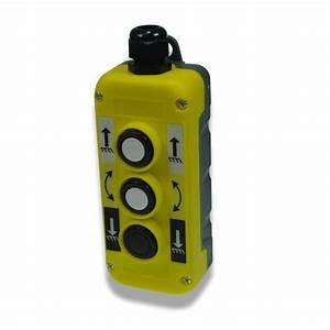 Yellow Push Button Station