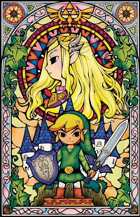 Link Triforce The Legend Of Zelda Princess Zelda The Wind