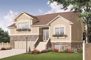 simple split level style house placement split level house plans home design 3468