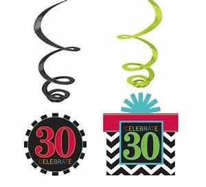 Dekoration 30 Geburtstag : geburtstag dekoration swirls celebrate 30 geburtstag 30 dekoration geburtstag 30 ~ Yasmunasinghe.com Haus und Dekorationen