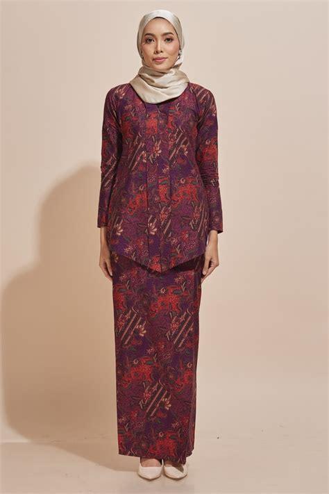 kebaya baatik dan rok baju batik kara kebaya batik code kr51 habra fashion