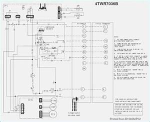 Wiring Diagram Trane Split System