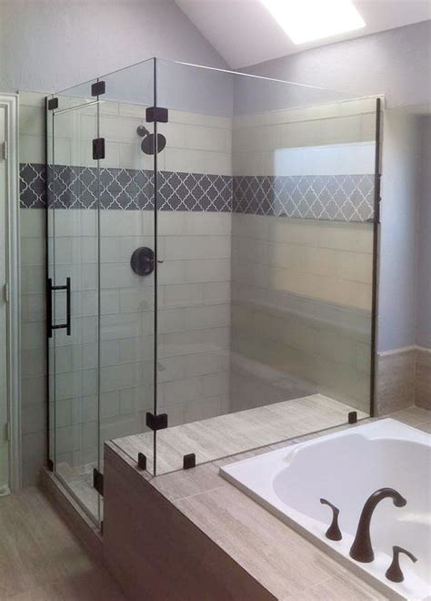 tub and shower glass shower enclosures and doors gallery shower doors