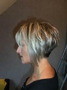 Coiffure Carre Plongeant : coiffure carr court plongeant nuque d gagee ~ Nature-et-papiers.com Idées de Décoration