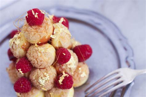 cuisine choux recette mini pièce montée choux chantilly mascarpone