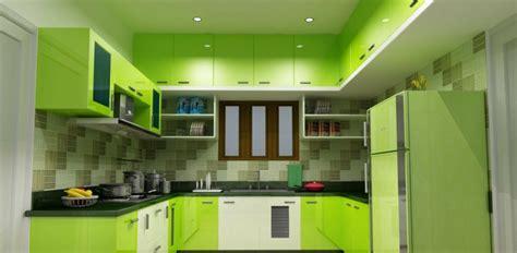 cuisine verte et marron cuisine verte pour un intérieur naturel et doux