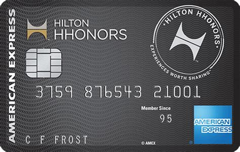 This facility is available in over 2500 hilton hotels and more than 500 participating hotels. No Annual Fee Hilton HHonors Card American Express SCRA