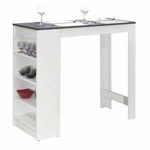 Table De Bar Blanche : tables pour restaurant comparez les prix pour professionnels sur page 1 ~ Voncanada.com Idées de Décoration
