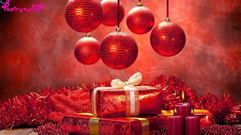 merry christmas wallpaper wishes balls gifts ribbon