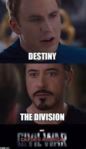 Destiny Civil War Memes