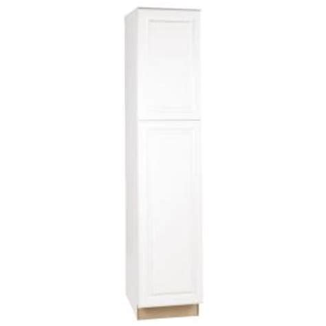 White Pantry Cabinet Home Depot by Hton Bay 18x84x24 In Hton Pantry Cabinet In Satin