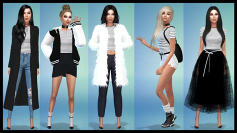 shirt  outfits challenge sims  youtube
