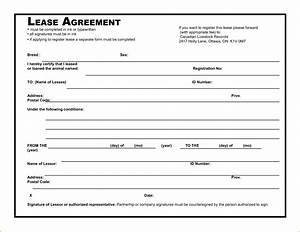 8 simple rental agreement template printable receipt for Simple free lease agreement