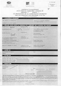 Demande D4immatriculation D Un Vehicule D Occasion : demande de certification d immatriculation d un v hicule ~ Gottalentnigeria.com Avis de Voitures
