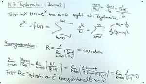 Taylorreihe Berechnen : mathematik nachhilfe videos vorlesungen bungen xiv potenzreihen analysis i ~ Themetempest.com Abrechnung