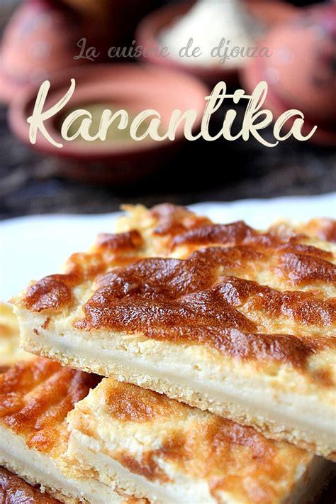 cuisine de a à z recettes karantika ou kalentika recettes faciles recettes