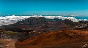 At the Crater On Mt. Haleakala - Maui, Hawaii | In the ...