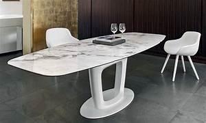 TABLE DE REPAS ORBITAL EXTENSIBLE CALLIGARIS Home Center