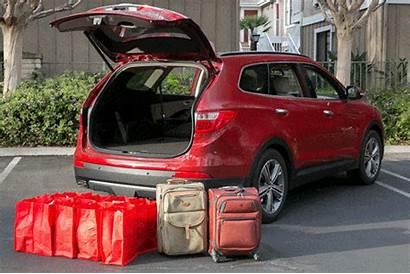 Fe Santa Hyundai Cargo Space Cars Width