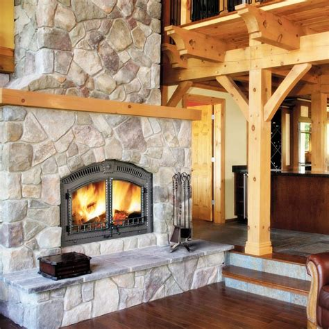 Wood For Fireplace - napoleon nz6000 high country wood burning fireplace