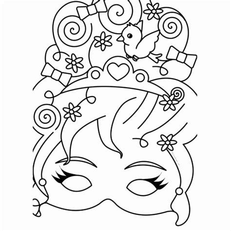Kleurplaten Prinsessen Printen by Kleurplaat Prinses Fantastisch Kleurplaten Maskers